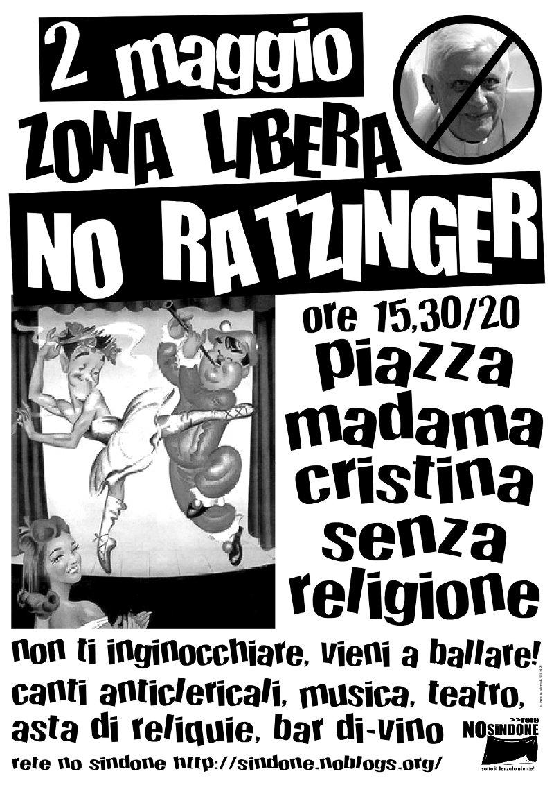 No Ratzinger - No Sindone